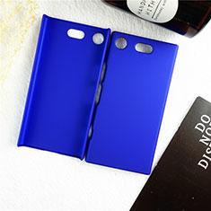 Coque Plastique Rigide Etui Housse Mat M01 pour Sony Xperia XZ1 Compact Bleu