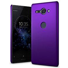 Coque Plastique Rigide Etui Housse Mat M01 pour Sony Xperia XZ2 Compact Violet