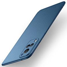 Coque Plastique Rigide Etui Housse Mat M01 pour Vivo X60 5G Bleu