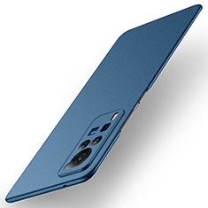 Coque Plastique Rigide Etui Housse Mat M01 pour Vivo X60 Pro 5G Bleu