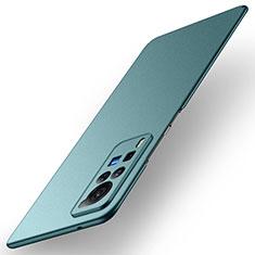 Coque Plastique Rigide Etui Housse Mat M01 pour Vivo X60 Pro 5G Vert