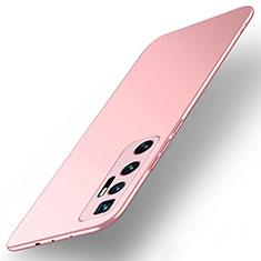 Coque Plastique Rigide Etui Housse Mat M01 pour Xiaomi Mi 10 Ultra Or Rose