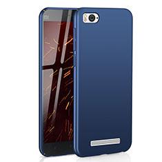 Coque Plastique Rigide Etui Housse Mat M01 pour Xiaomi Mi 4C Bleu