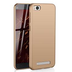 Coque Plastique Rigide Etui Housse Mat M01 pour Xiaomi Mi 4C Or
