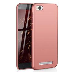 Coque Plastique Rigide Etui Housse Mat M01 pour Xiaomi Mi 4C Or Rose