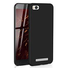 Coque Plastique Rigide Etui Housse Mat M01 pour Xiaomi Mi 4i Noir