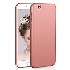 Coque Plastique Rigide Etui Housse Mat M01 pour Xiaomi Mi 5C Or Rose
