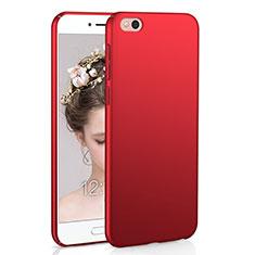 Coque Plastique Rigide Etui Housse Mat M01 pour Xiaomi Mi 5C Rouge