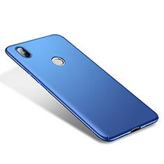 Coque Plastique Rigide Etui Housse Mat M01 pour Xiaomi Mi 8 Bleu