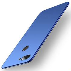 Coque Plastique Rigide Etui Housse Mat M01 pour Xiaomi Mi 8 Lite Bleu