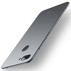 Coque Plastique Rigide Etui Housse Mat M01 pour Xiaomi Mi 8 Lite Gris