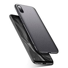 Coque Plastique Rigide Etui Housse Mat M01 pour Xiaomi Mi 8 Screen Fingerprint Edition Gris