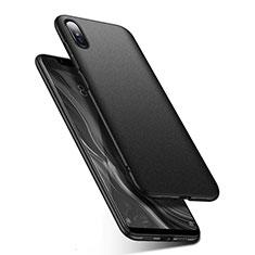 Coque Plastique Rigide Etui Housse Mat M01 pour Xiaomi Mi 8 Screen Fingerprint Edition Noir