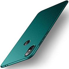 Coque Plastique Rigide Etui Housse Mat M01 pour Xiaomi Mi 8 SE Vert