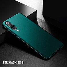 Coque Plastique Rigide Etui Housse Mat M01 pour Xiaomi Mi 9 Lite Vert