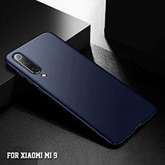 Coque Plastique Rigide Etui Housse Mat M01 pour Xiaomi Mi 9 SE Bleu