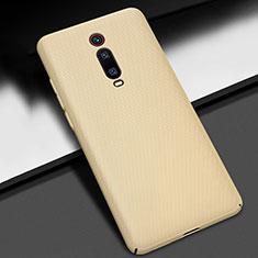 Coque Plastique Rigide Etui Housse Mat M01 pour Xiaomi Mi 9T Pro Or