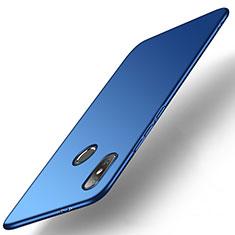 Coque Plastique Rigide Etui Housse Mat M01 pour Xiaomi Mi A2 Bleu