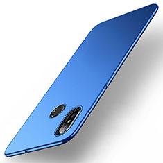 Coque Plastique Rigide Etui Housse Mat M01 pour Xiaomi Mi Max 3 Bleu