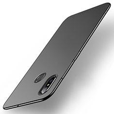 Coque Plastique Rigide Etui Housse Mat M01 pour Xiaomi Mi Max 3 Noir