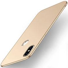 Coque Plastique Rigide Etui Housse Mat M01 pour Xiaomi Mi Max 3 Or