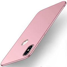 Coque Plastique Rigide Etui Housse Mat M01 pour Xiaomi Mi Max 3 Or Rose