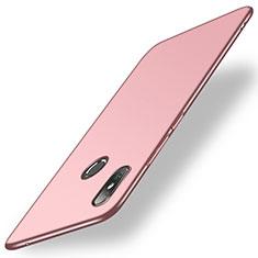 Coque Plastique Rigide Etui Housse Mat M01 pour Xiaomi Mi Mix 2S Or Rose