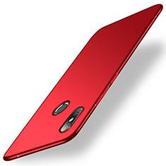 Coque Plastique Rigide Etui Housse Mat M01 pour Xiaomi Mi Mix 2S Rouge