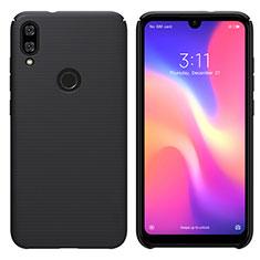 Coque Plastique Rigide Etui Housse Mat M01 pour Xiaomi Mi Play 4G Noir