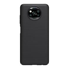 Coque Plastique Rigide Etui Housse Mat M01 pour Xiaomi Poco X3 NFC Noir