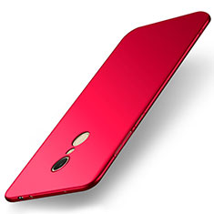 Coque Plastique Rigide Etui Housse Mat M01 pour Xiaomi Redmi 5 Rouge