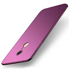 Coque Plastique Rigide Etui Housse Mat M01 pour Xiaomi Redmi 5 Violet