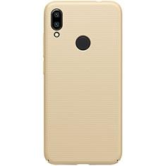Coque Plastique Rigide Etui Housse Mat M01 pour Xiaomi Redmi 7 Or
