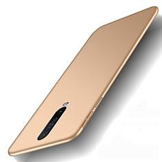 Coque Plastique Rigide Etui Housse Mat M01 pour Xiaomi Redmi K30 4G Or