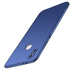 Coque Plastique Rigide Etui Housse Mat M01 pour Xiaomi Redmi Note 5 AI Dual Camera Bleu