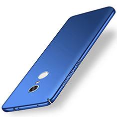 Coque Plastique Rigide Etui Housse Mat M01 pour Xiaomi Redmi Note 5 Indian Version Bleu