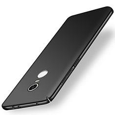 Coque Plastique Rigide Etui Housse Mat M01 pour Xiaomi Redmi Note 5 Indian Version Noir