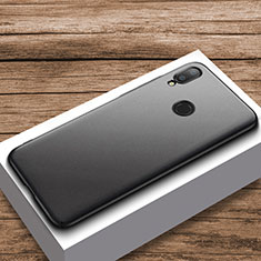 Coque Plastique Rigide Etui Housse Mat M01 pour Xiaomi Redmi Note 7 Pro Noir
