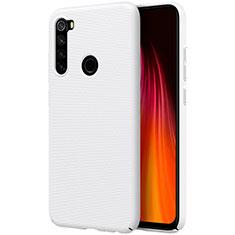 Coque Plastique Rigide Etui Housse Mat M01 pour Xiaomi Redmi Note 8T Blanc