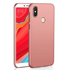 Coque Plastique Rigide Etui Housse Mat M01 pour Xiaomi Redmi S2 Or Rose