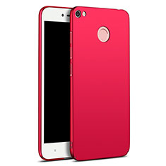Coque Plastique Rigide Etui Housse Mat M01 pour Xiaomi Redmi Y1 Rouge