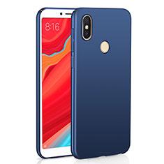 Coque Plastique Rigide Etui Housse Mat M01 pour Xiaomi Redmi Y2 Bleu