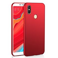 Coque Plastique Rigide Etui Housse Mat M01 pour Xiaomi Redmi Y2 Rouge