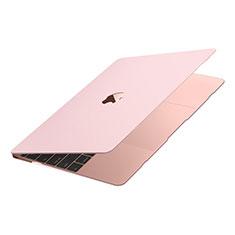 Coque Plastique Rigide Etui Housse Mat M02 pour Apple MacBook Air 13 pouces (2020) Rose