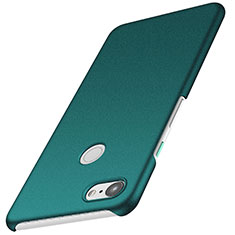 Coque Plastique Rigide Etui Housse Mat M02 pour Google Pixel 3 Vert