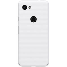 Coque Plastique Rigide Etui Housse Mat M02 pour Google Pixel 3a XL Blanc