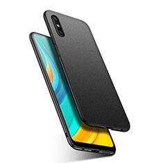 Coque Plastique Rigide Etui Housse Mat M02 pour Huawei Enjoy 10e Noir