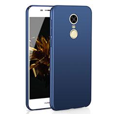 Coque Plastique Rigide Etui Housse Mat M02 pour Huawei Enjoy 6 Bleu