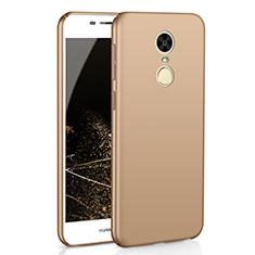 Coque Plastique Rigide Etui Housse Mat M02 pour Huawei Enjoy 6 Or