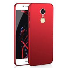 Coque Plastique Rigide Etui Housse Mat M02 pour Huawei Enjoy 6 Rouge